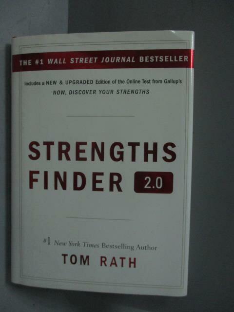 ~書寶 書T1/財經企管_MDT~StrengthsFinder 2.0_Tom Rath