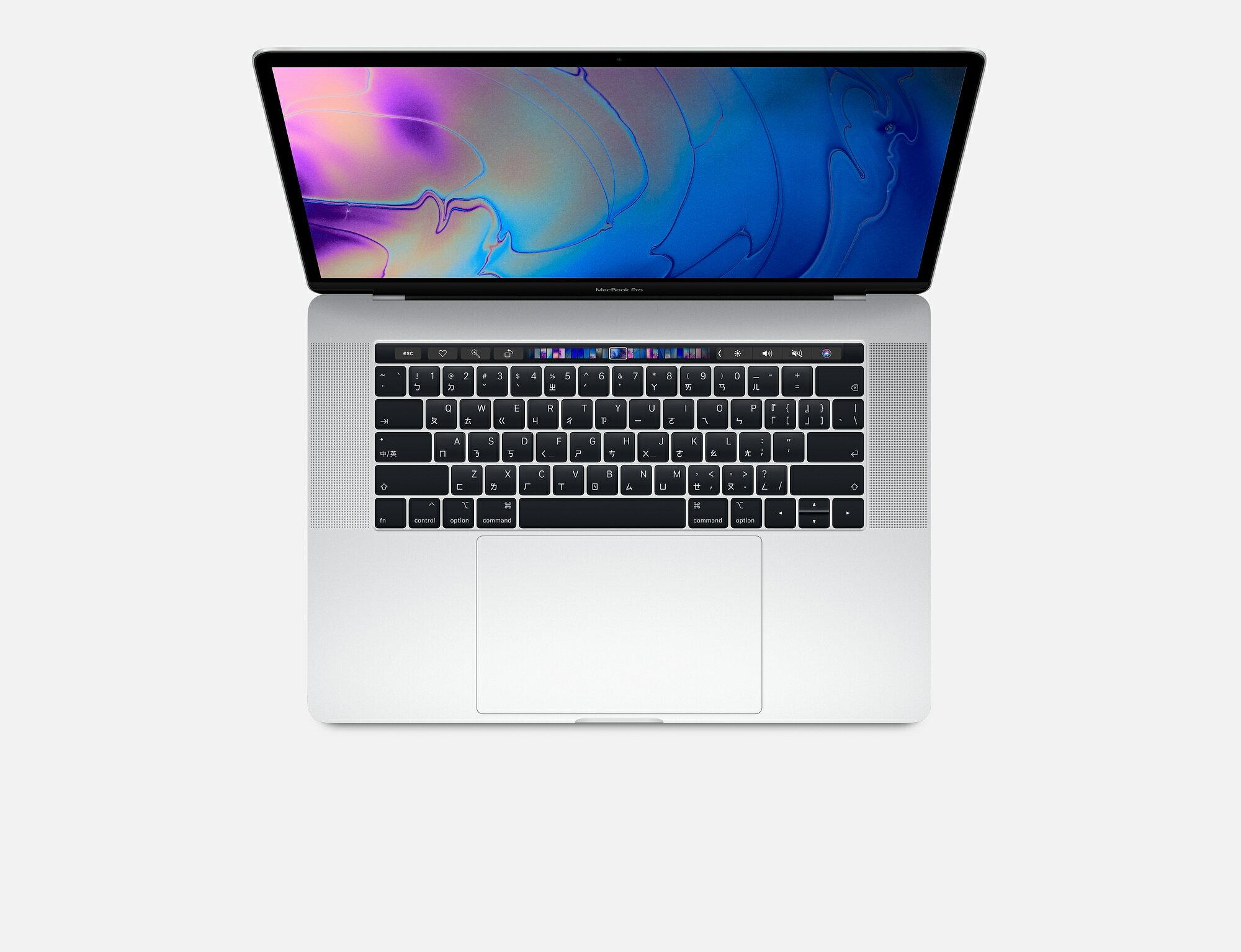 ★限時9折★ 2018 MacBook Pro 15吋 i7 / 2.6GHz / 16G / 512GB / Touch Bar(銀色) 台灣公司貨 佳成數位 0