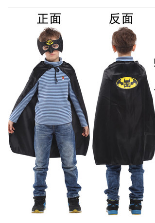 X射線~W275940~30  蝙蝠小遊俠眼罩披風組,萬聖節服裝  化妝舞會  派對道具