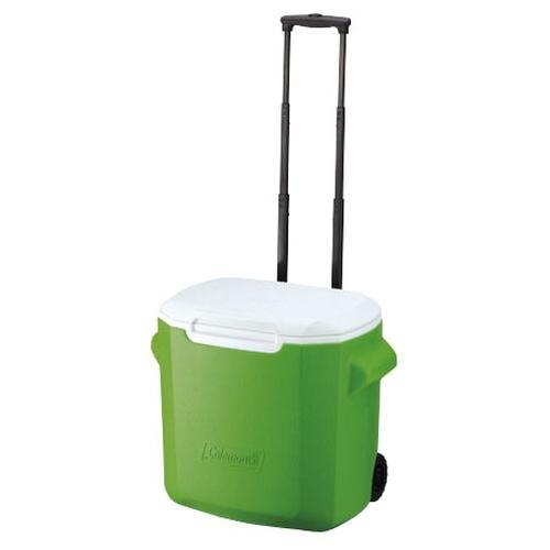 ├登山樂┤美國 Coleman 26.5L拖輪置物型冰桶/綠 #CM-0491JM000