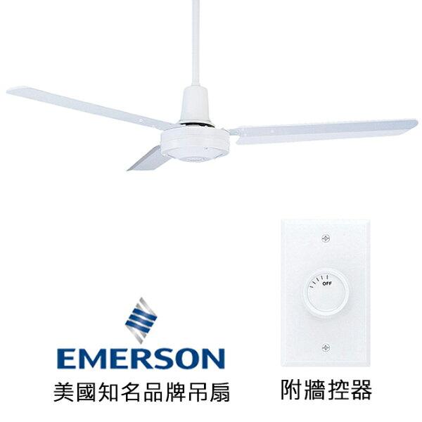 "[topfan]Emerson48""IndustrialFans48英吋吊扇(HF948W)白色(適用於110V電壓)"