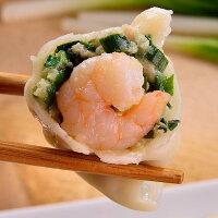 韭菜蝦仁豬肉水餃(30粒裝) 0