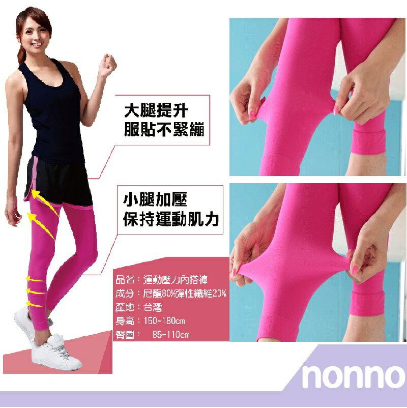 RH shop nonno儂儂 運動壓力褲襪-26023