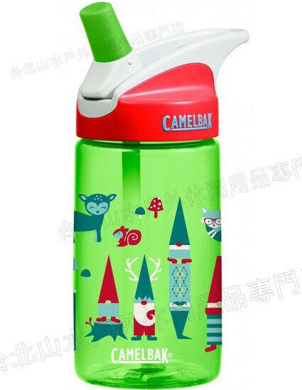 [ Camelbak ] 兒童水壺/吸管運動水瓶/吸管水瓶 eddy 400ml CB53896 森林地精