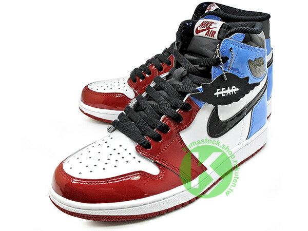 2019 創新配色 1985 年經典復刻款 九孔鞋洞 NIKE AIR JORDAN 1 RETRO HIGH OG FEARLESS UNC CHICAGO 男鞋 白紅藍 亮皮 警燈 一代 AJ (CK5666-100) ! 1