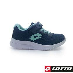 義大利第一品牌-LOTTO樂得 童款MEGALIGHT 輕量跑鞋 137g [8056] 藍【巷子屋】