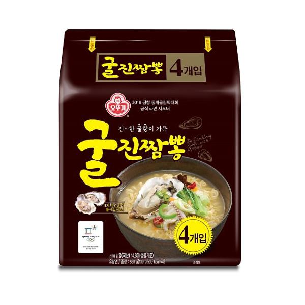 奧多吉真牡蠣炒碼湯麵130公克*4包(本商品整袋販售)