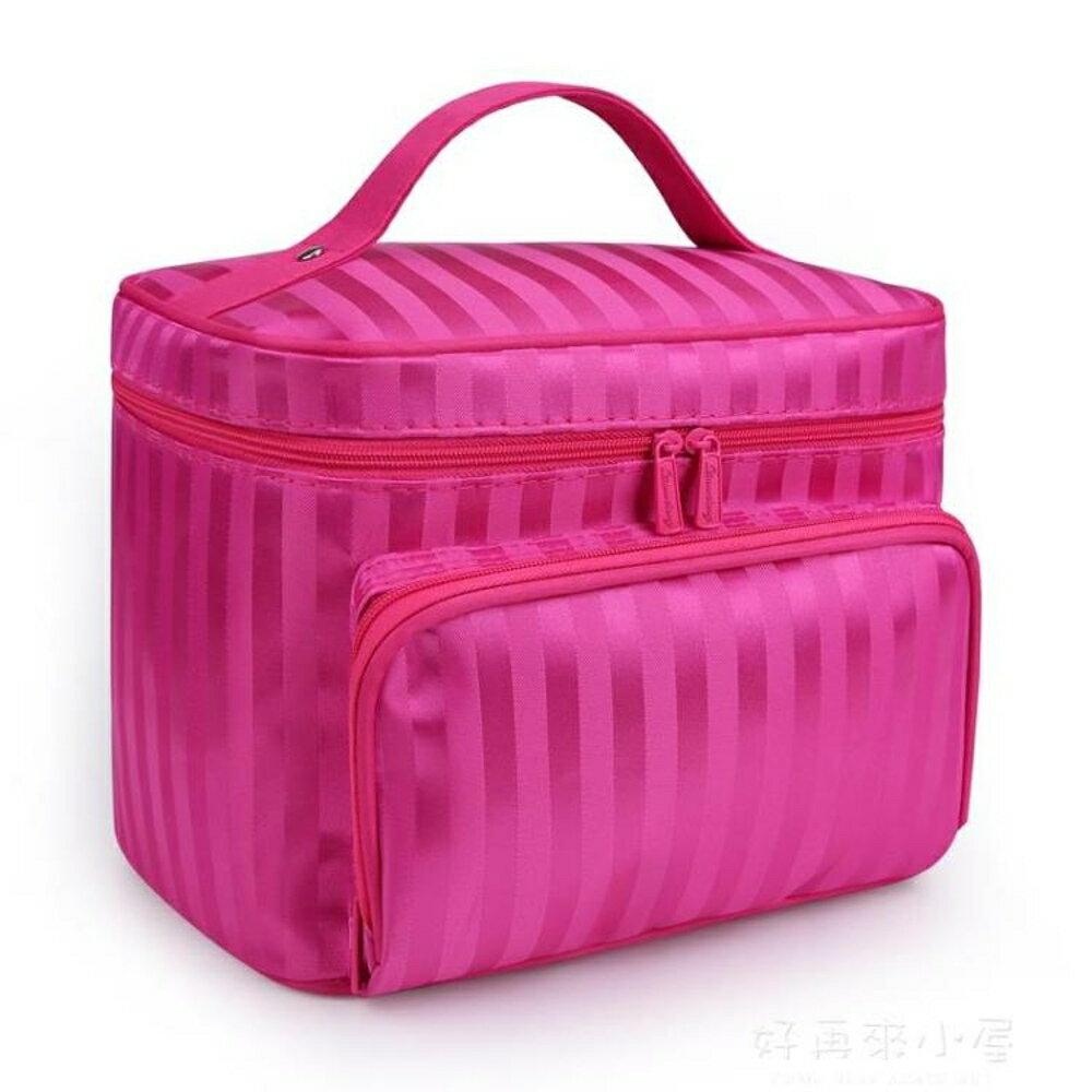 牛津布化妝包大容量便攜洗漱包旅行化妝品收納包可水洗化妝袋防水 好再來小屋