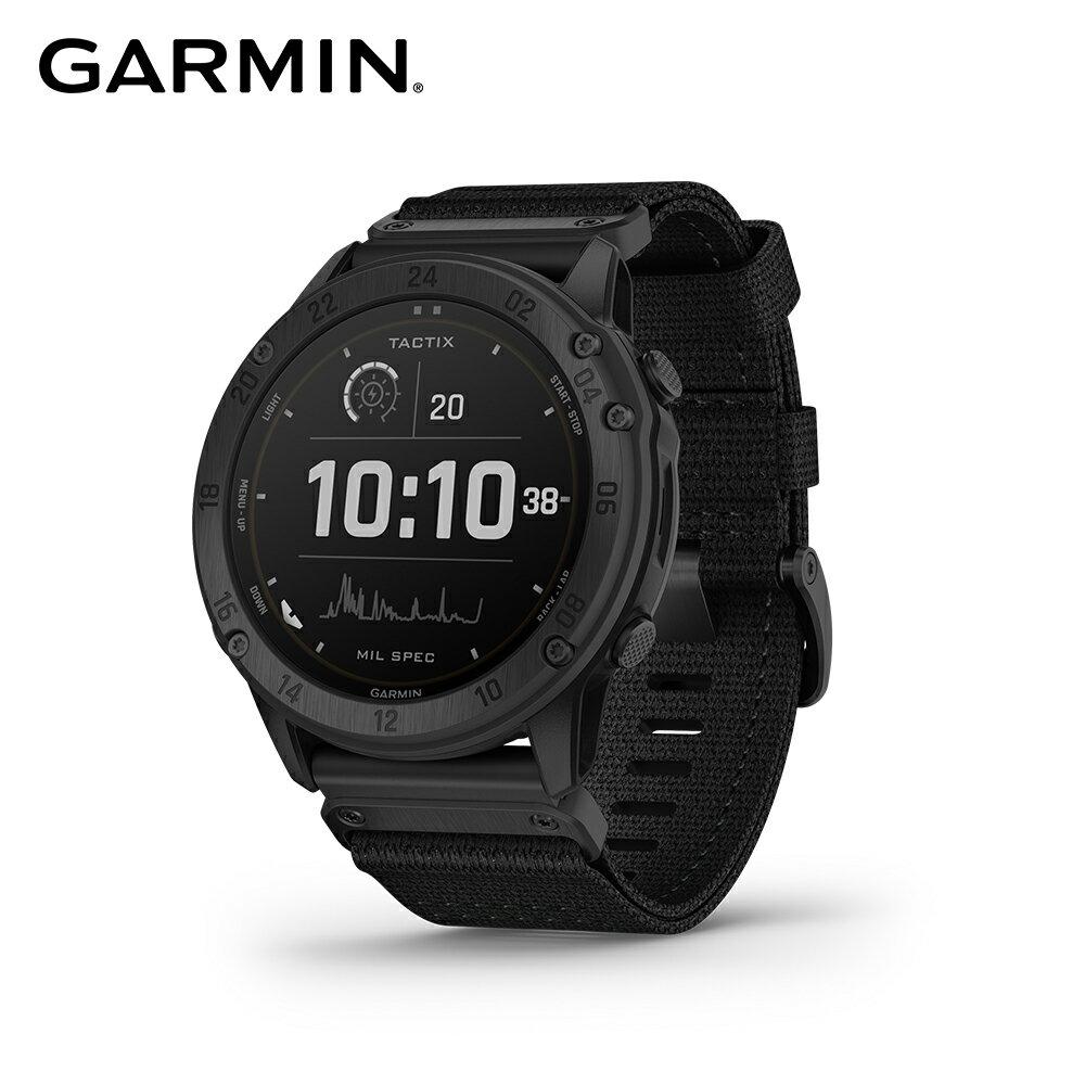 [多重神劵現折10%再抵禮金] GARMIN Tactix Delta - Solar Edition 太陽能複合式戰術GPS腕錶 內建血氧感測功能