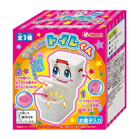 Hesrt手做日本食玩馬桶玩具馬桶造型汽水糖馬桶造型玩具汽水糖馬桶糖果賞味2019.01_櫻花寶寶