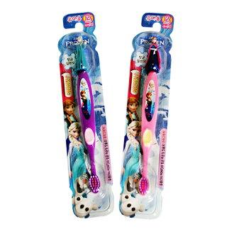 ★衛立兒生活館★Frozen 冰雪奇緣立體造型牙刷(3~5歲)