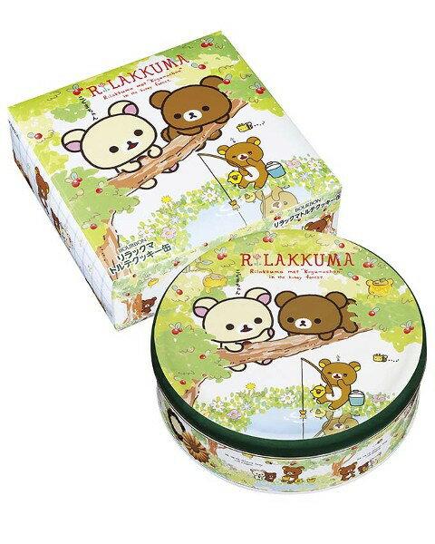 【橘町五丁目】新版! 北日本BOURBON 拉拉熊 餅乾禮盒(春日郊遊版)-附贈提袋!