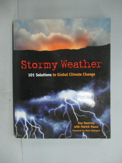 ~書寶 書T1/科學_ZDN~Stormy Weather: 101 Solutions