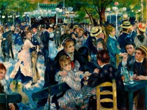 Selected Artworks PDX3PR1559LARGE Dance At Le Moulin De La Galette Poster Print by Pierre-Auguste Renoir, 22 x 28 - Large bb755e7bffe1867aefbd951cbec4ad0a