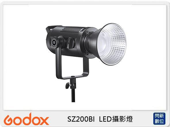 【滿3000現折300+點數10倍回饋】GODOX 神牛 SZ200BI 200W 可變焦 雙色溫 LED 攝影燈(SZ200 BI,公司貨)