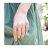 日本CREAM DOT  /  指輪 ダブルライン レディース 重ね着け シルバー ゴールド 3連風 ワンサイズ(11号) 細身 華奢リング 結婚式 大人可愛い outlet  /  qc0257  /  日本必買 日本樂天直送(400) 7