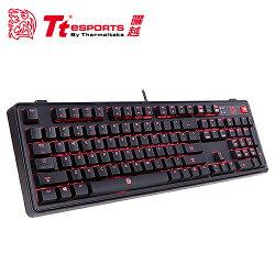 Tt eSPORTS 曜越 拓荒者PRO背光機械鍵盤 紅軸【三井3C】