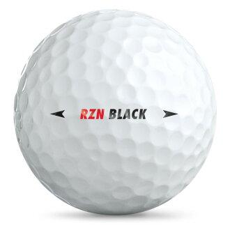NIKE RZN BLACK 高爾夫球 4層球 (一盒裝)