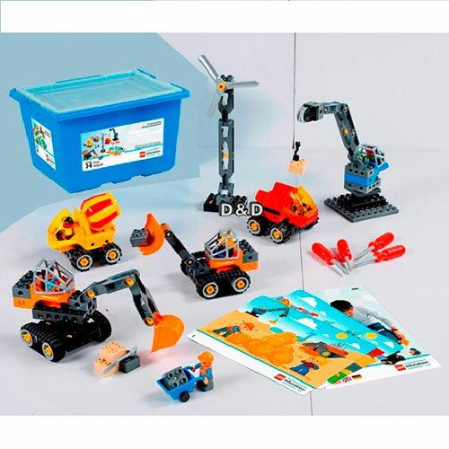 樂高積木LEGO《LT45002》DuploEducation得寶教育系列-工程機具組(95PCS)