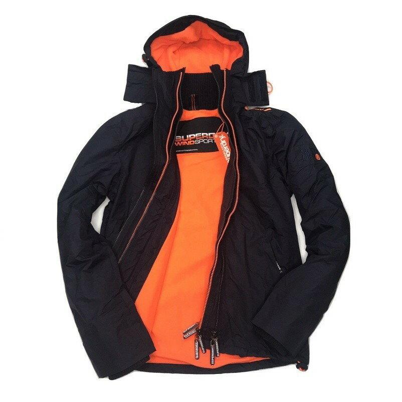 Superdry 極度乾燥外套 男款 內刷毛三拉鍊連帽夾克 防風防潑水 3色 英國正品現貨 4