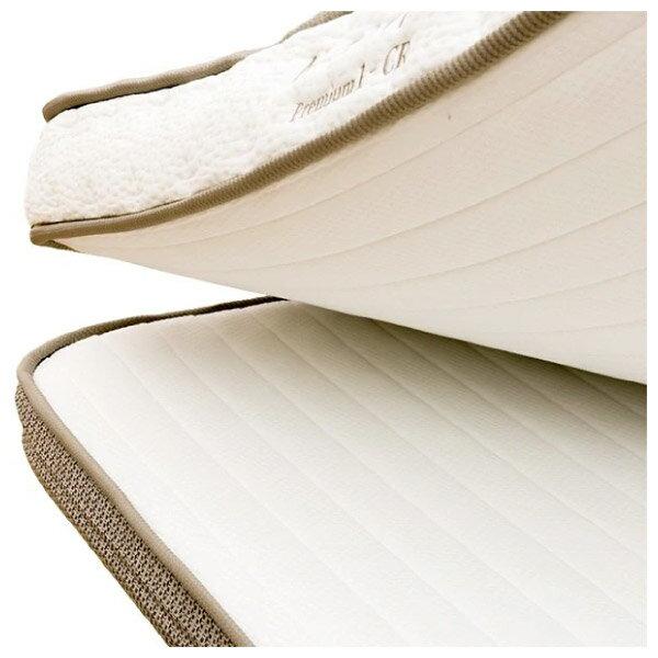 ◎獨立筒彈簧床 可拆式雙層床墊 N-SLEEP P1-CR 雙人加大 NITORI宜得利家居 6