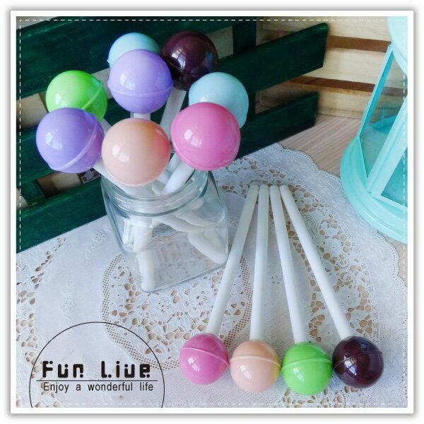 【aife life】甜蜜蜜棒棒糖筆/棒棒糖中性筆/彩色糖果筆/造型原子筆/創意文具/廣告筆/簽名筆/婚禮小物