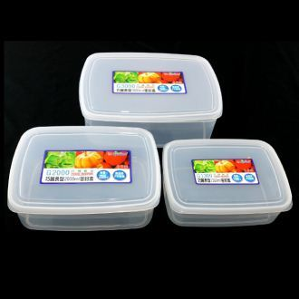 【珍昕】KEYWAY 巧麗長型保鮮盒系列~3種尺寸(1300.2000.3000ml)