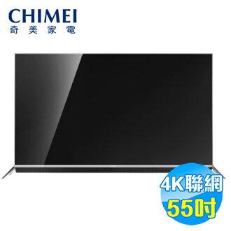奇美 CHIMEI 55型 4K 連網 LED顯示器 TL-55W760