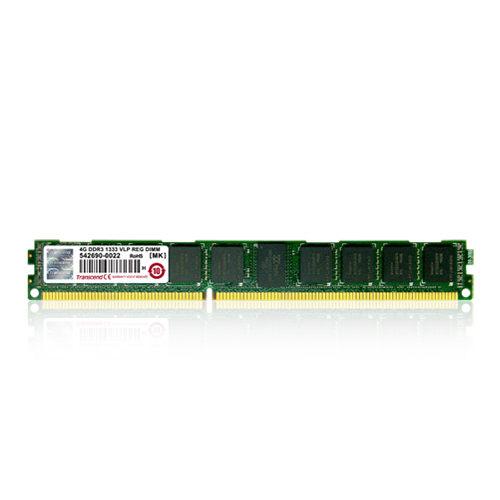 【新風尚潮流】創見伺服器記憶體 4G DDR3-1333 ECC REG PCB矮版 TS512MKR72V6NL