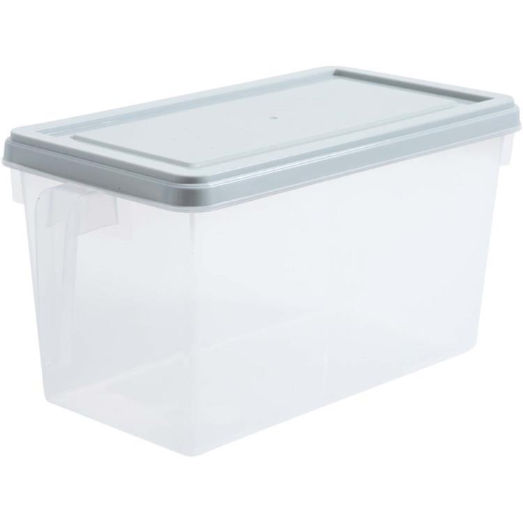 居家家冰箱透明收納盒大號塑料冷凍盒廚房水果盒子食物雞蛋保鮮盒 MKS