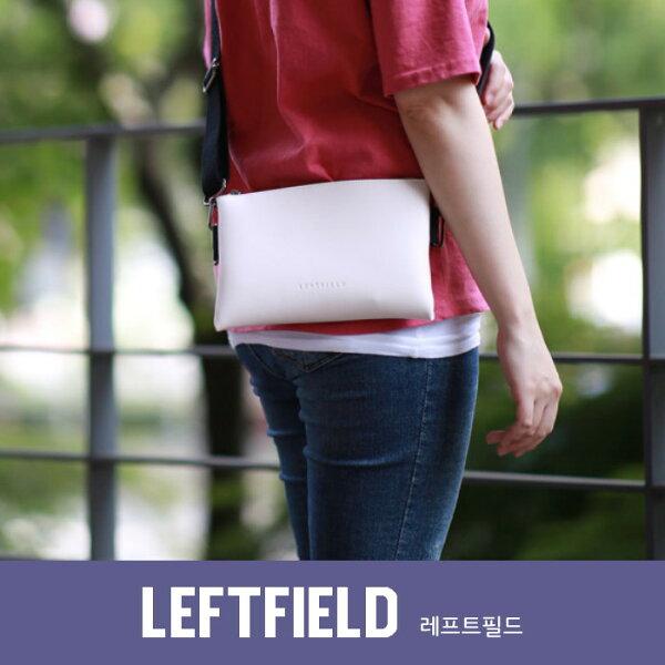 【韓國直送】側背包正韓LEFTFIELD輕便皮革多用包手拿包斜背包NO.747