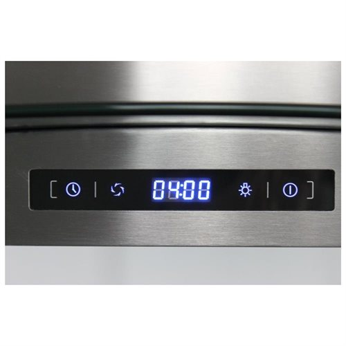 "AKDY 30"" GV-AIS2-30 Europe Style Stainless Steel Island Range Hood Touch Sensor Control 1"