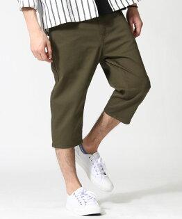 七分錐形褲OLIVE