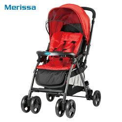 Merissa美瑞莎-雙向嬰兒手推車(LT-3R Light 尊爵紅)
