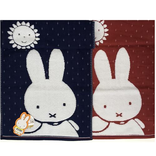 【百倉日本舖】Miffy米菲兔緹花紗布毛巾/大人毛巾