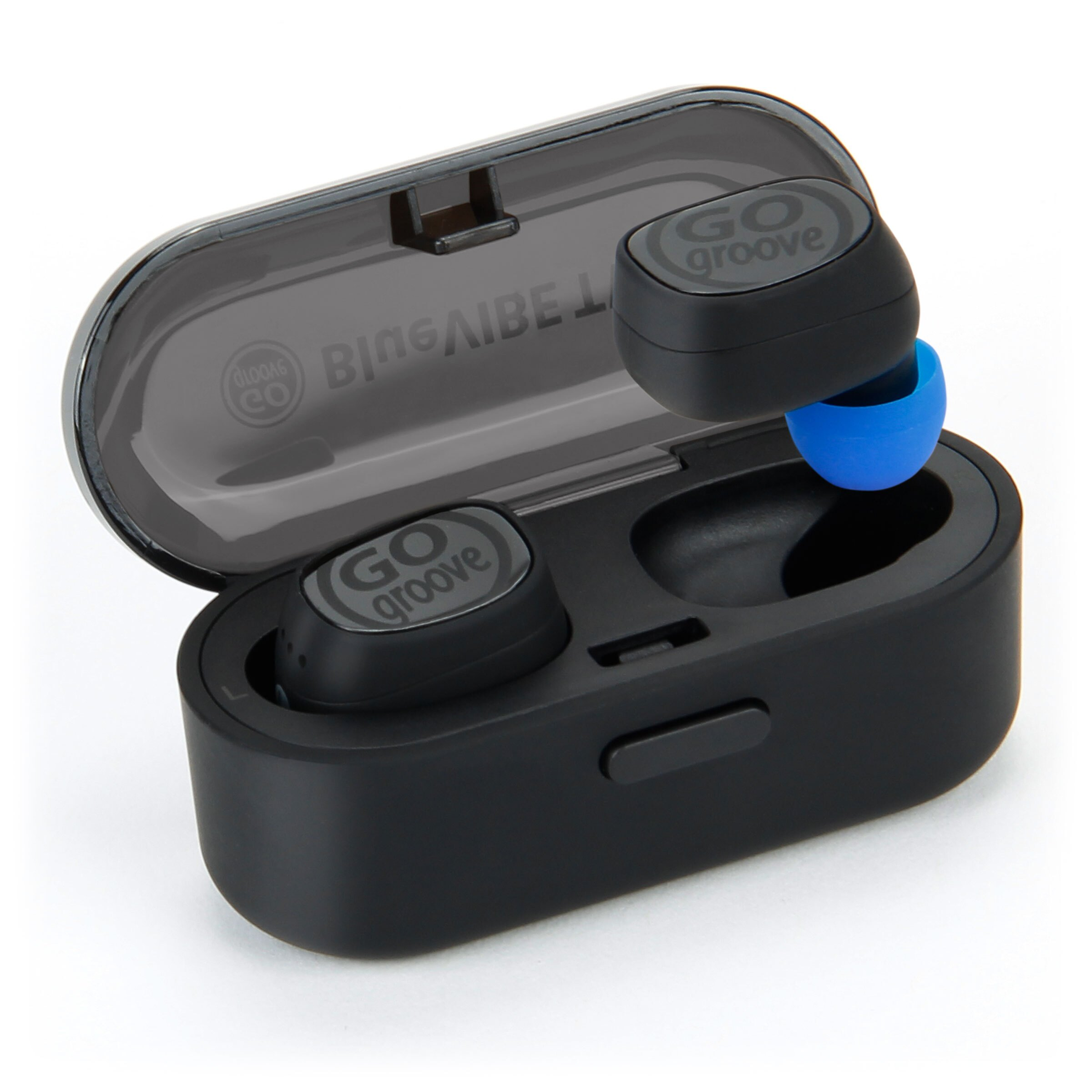 241ba5cb833 Wireless Earbuds Bluetooth Headphones by GOgroove - BlueVIBE TWS Mini Bluetooth  Headset w/ HD Mic
