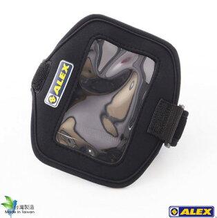 """騎跑泳者FINISHER:ALEX臂戴式手機套,黑色4.7""""-5.3""""螢幕適用智慧型手機AppleiPhoneSAMSUNGHTCSony"""
