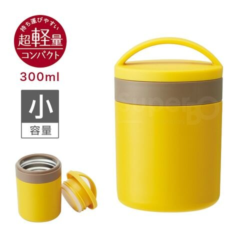★衛立兒生活館★Skater 幼兒副食品保溫罐(300ml)黃
