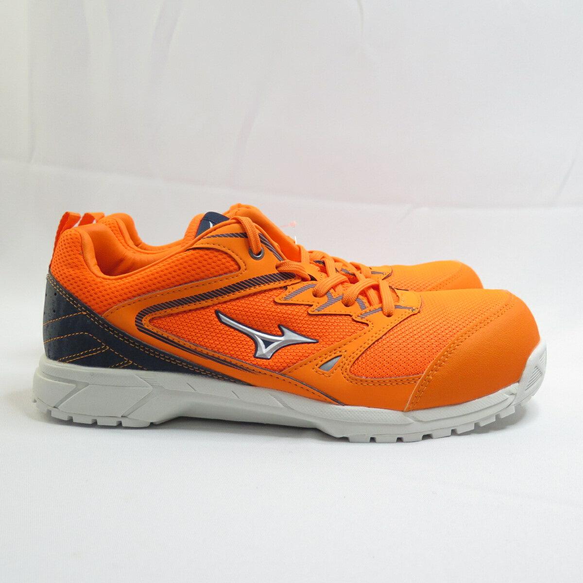 【滿額領券折$150】Mizuno VS防護鞋 男款 工作安全鞋 F1GA201054 螢光橘 橘【iSport愛運動】