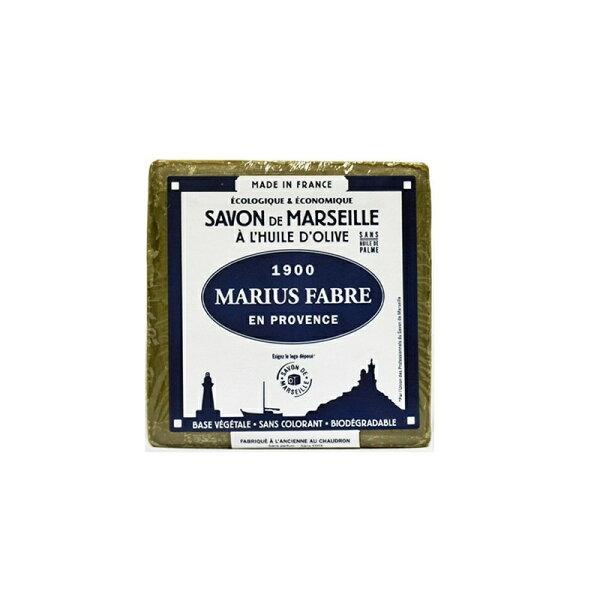 (任選3件享優惠折扣)法鉑橄欖油經典馬賽皂(綠皂)400GUPSM認證EPV標章法國原裝進口