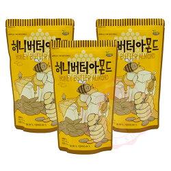韓國 Toms Gilim 蜂蜜奶油杏仁果 杏仁 堅果 核桃 腰果 進口零食(210g)【庫奇小舖】