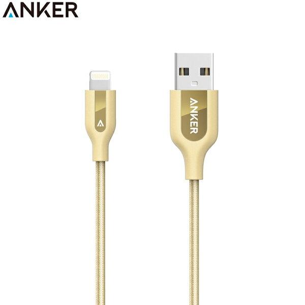耀您館★美國Anker數據線30公分尼龍編織PowerLine+傳輸線Lightning適Apple蘋果iPhone充電線iPodiPadx8765432+plus