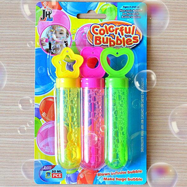 【aife life】卡裝吹泡泡-3入組/泡泡槍/泡泡水/泡泡盤/泡泡機/情境佈置/婚紗攝影/兒童親子玩具/贈品/禮品