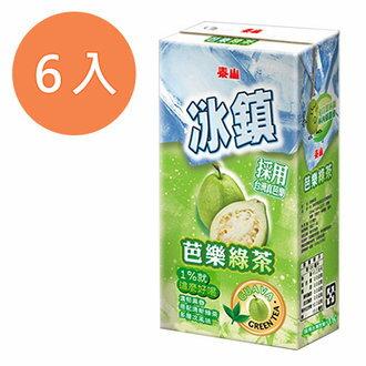 泰山 冰鎮芭樂綠茶 300ml (6入)/組