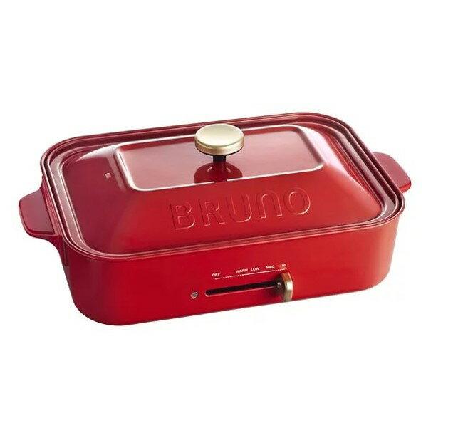 【贈日本製章魚燒叉子】BRUNO 多功能電烤盤 日本熱銷 無煙 章魚燒 大阪燒 鐵盤 烤盤 《公司貨》