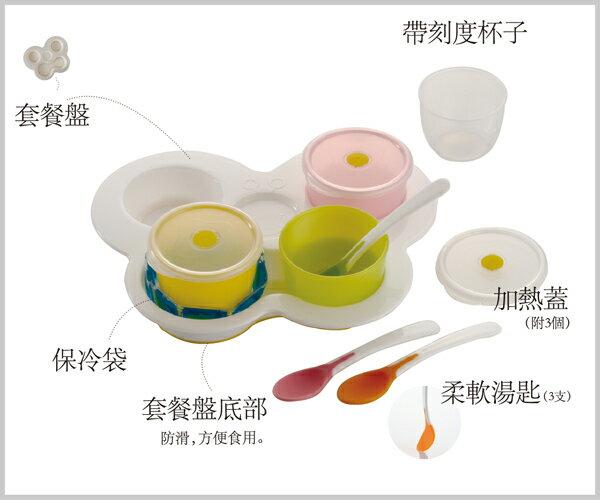 Richell利其爾 - ND 離乳食初期餐具套組 7