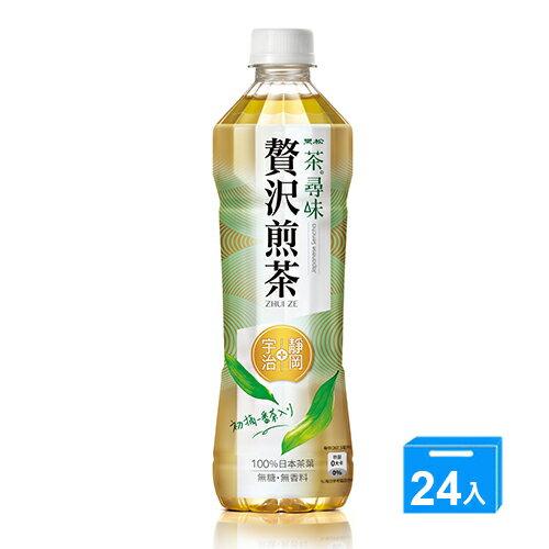 黑松茶尋味贅沢煎茶535ml X24【愛買】