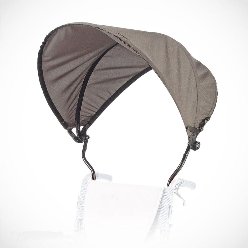 Karma 康揚 輪椅用 收合式遮陽棚 抗UV 遮陽 可折疊收納