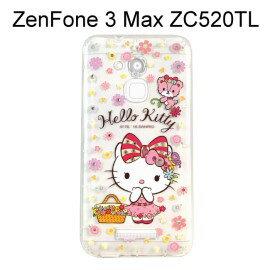Hello Kitty空壓氣墊鑽殼 [野餐] ZenFone 3 Max ZC520TL (5.2 吋)【三麗鷗正版授權】