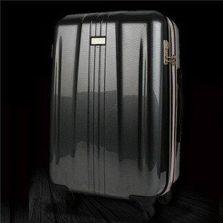 日本 LEGEND WALKER 6701-48-19吋 拉鍊輕量煞車箱 碳纖黑